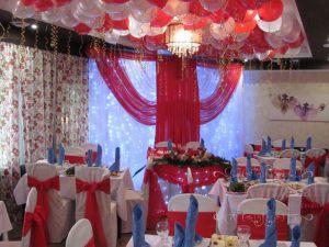 Декор свадеб шарами оригинально
